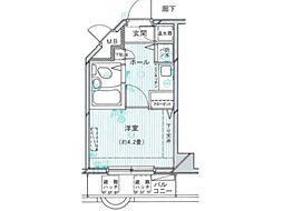 豊田ダイカンプラザ[4階]の間取り