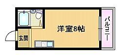 大阪府大阪市都島区都島中通1丁目の賃貸マンションの間取り
