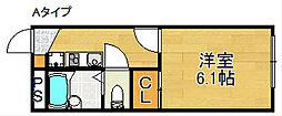 レオパレスFUTURE[2階]の間取り