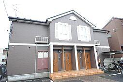埼玉県吉川市大字平沼の賃貸アパートの外観