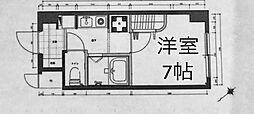 パークノヴァ横浜弐番館[1階]の間取り