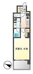 ロイヤルパークスERささしま[12階]の間取り