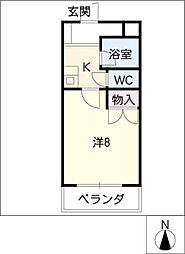 マインドコート神宮[6階]の間取り