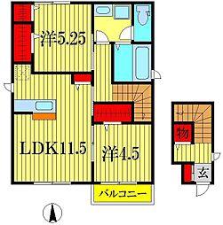 T−HOUSE[2階]の間取り