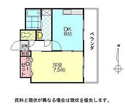 レーゼ21[402号室]の間取り