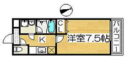 フジパレス浜寺ノースⅤ番館[2階]の間取り