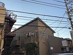 神奈川県横浜市港北区高田東4の賃貸アパートの外観