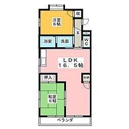 伊藤第2ビル[4階]の間取り
