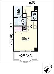 P.MII[1階]の間取り