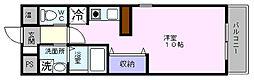ファミール綾園[2階]の間取り