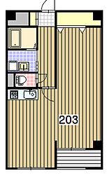 北海道札幌市中央区南2条西19丁目の賃貸マンションの間取り