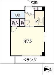 ピュアSASAKI[2階]の間取り