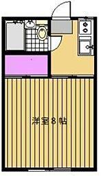 山王荘II[2階]の間取り
