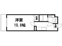 コモド二軒茶屋[1階]の間取り