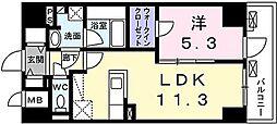 RESIDENCE 八千代[14階号室]の間取り