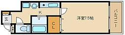 トレイズIII[2階]の間取り