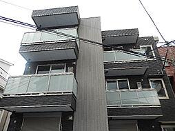 東京都墨田区東向島6丁目の賃貸アパートの外観