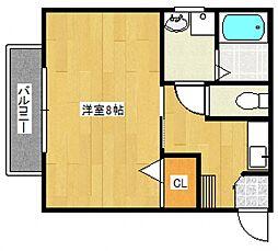 宮の陣駅 3.4万円