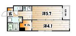 マーベラスハイム[3階]の間取り