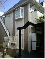 東京都北区滝野川2丁目の賃貸アパートの外観