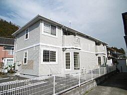 東京都あきる野市三内の賃貸アパートの外観