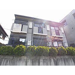奈良県生駒市中菜畑1丁目の賃貸アパートの外観