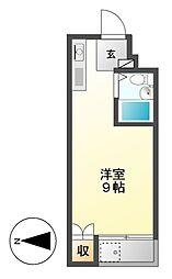東山レジデンス[4階]の間取り