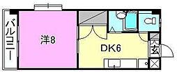 シェレナ辻町[201 号室号室]の間取り