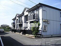 メルベール西富田[1階]の外観
