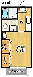 千葉県船橋市海神6丁目の賃貸マンションの間取り