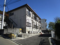 夏目コーポ[1階]の外観