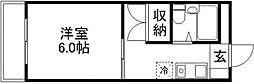 ヒルトップ美走[305号室]の間取り