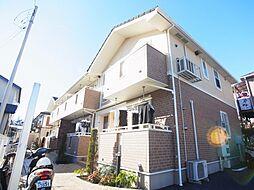 千葉県柏市戸張の賃貸アパートの外観