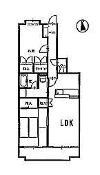 Kボヌール[3階]の間取り