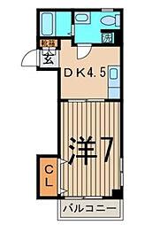 SKフラット[2階]の間取り