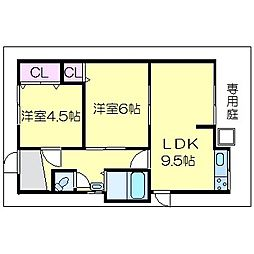 [一戸建] 大阪府八尾市教興寺3丁目 の賃貸【/】の間取り