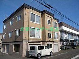 北海道札幌市東区北三十条東7丁目の賃貸アパートの外観