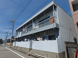 浜田マンション[201号室]の外観