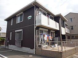 岡山県倉敷市中畝4の賃貸アパートの外観
