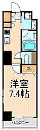 フュージョナル浅草DUE[8階]の間取り
