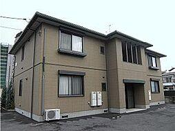 広島県東広島市西条西本町の賃貸アパートの外観
