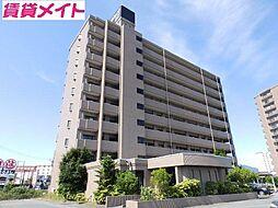 三重県松阪市末広町2の賃貸マンションの外観