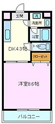 グリーンヒル・タカハシII[2階]の間取り