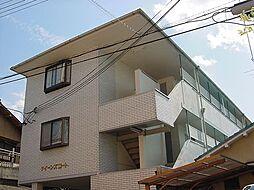 京都府京都市山科区椥辻中在家町の賃貸マンションの外観
