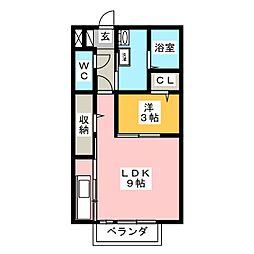 アドミラーブル[2階]の間取り