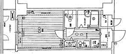 リーガル塚本II[307号室]の間取り