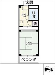 シャンポール21[3階]の間取り