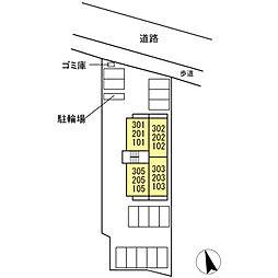 (仮)D-room 住吉 II[3階]の外観