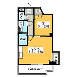 ルインズII[2階]の間取り