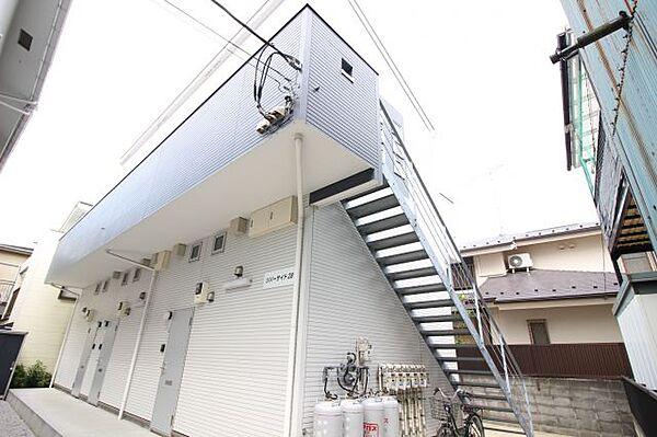 神奈川県横浜市港南区下永谷6丁目の賃貸アパートの外観